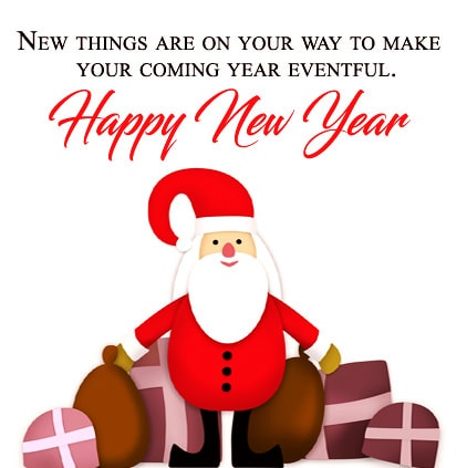 1629-Cute-Santa-On-New-Year-With-Quotations-Facebook-Whatsapp-Status