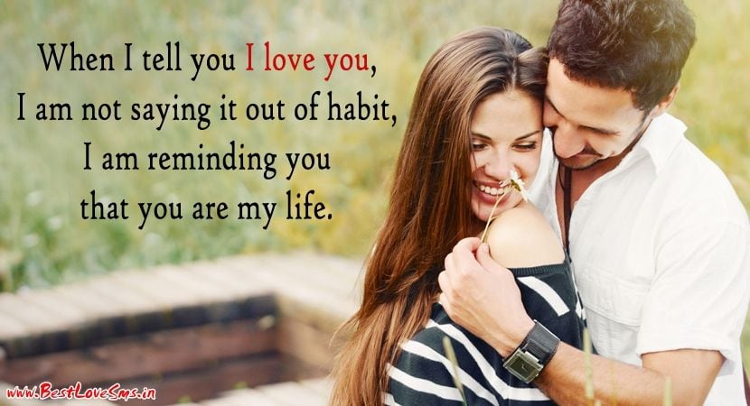 1845 Most Romantic Couple Full Hd Image With Love Quote