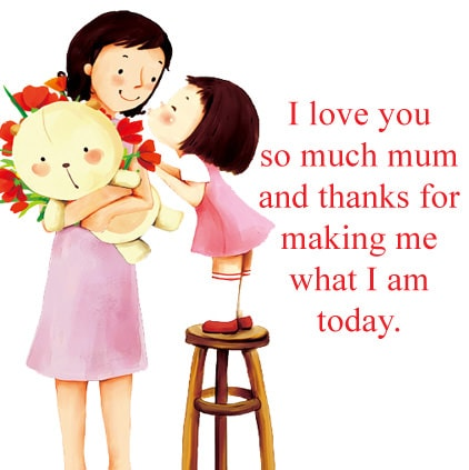 3753 I Love You Mom Dp Facebook Whatsapp Status Mother Quotes