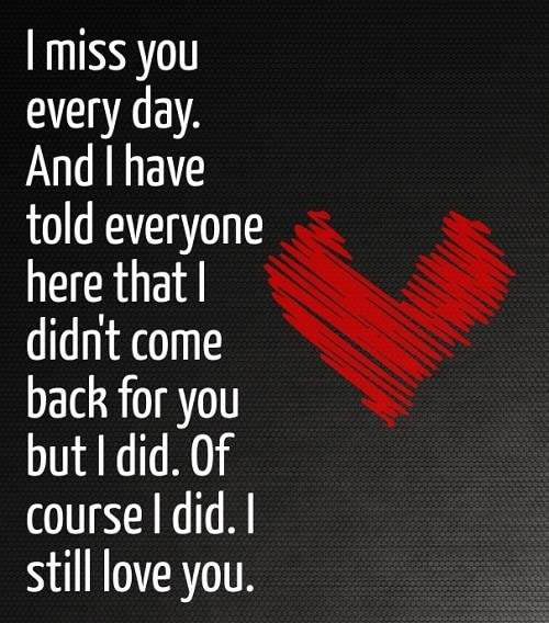 I Miss You Quotes For Her Stunning 48IMissYouLoveQuotesForHerFacebookWhatsappStatus Miss