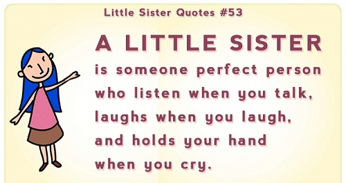 4478 Little Sister Quotes Facebook Whatsapp Status