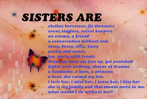 4490 What Are Sister Quotes Facebook Whatsapp Status
