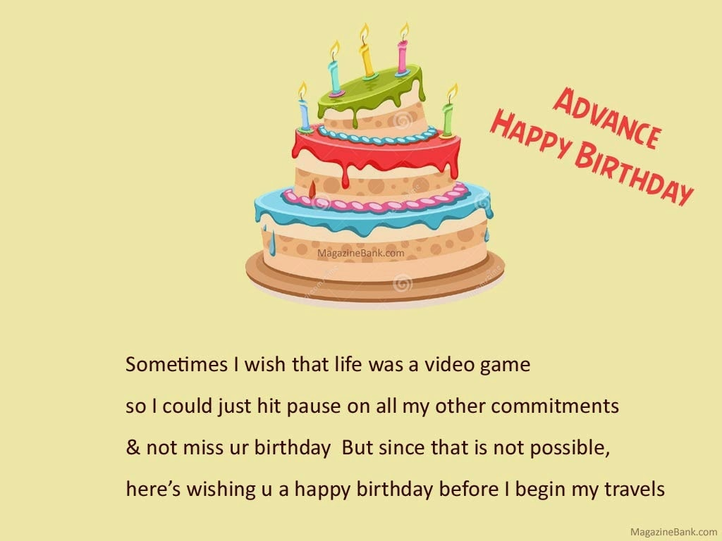 5638 Advance Happy Birthday Wishes Greeting Cards With Quotes Facebook Whatsapp Status