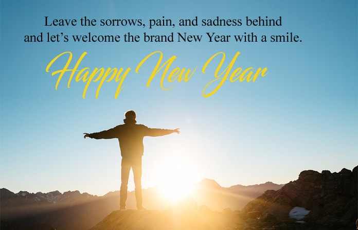 6220 New Year With Smile Quotes Facebook Whatsapp Status