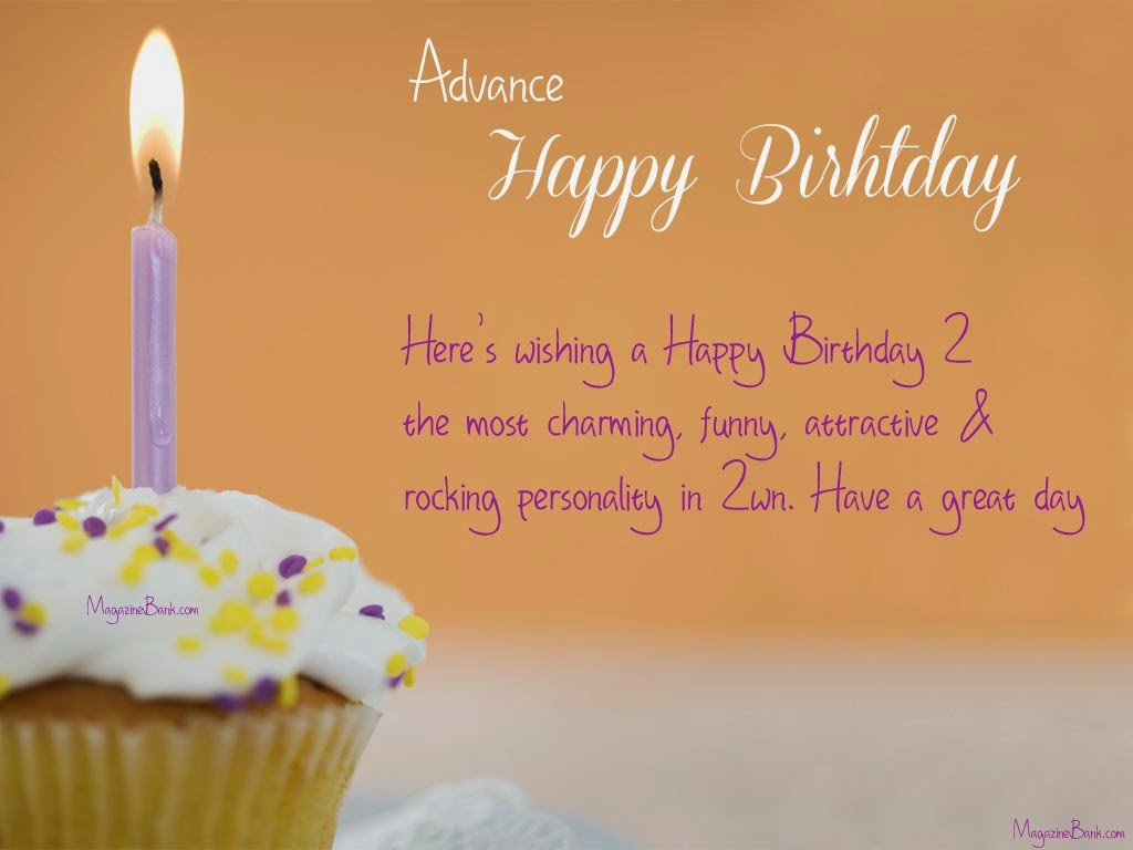 6640 Advance Happy Birthday Wishes Greeting Cards With Quotes