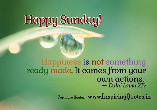 6939 Sunday Good Morning Quotes On Happiness Facebook Whatsapp