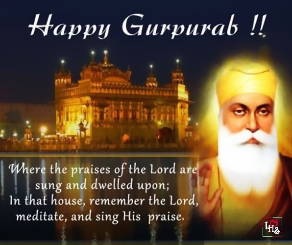 Guru Nanak Jayanti Quotes, Guru Nanak Jayanti Quotes, Messages, Status & Thought In English, guru nanak jayanti wishes in english quotes hindishayari
